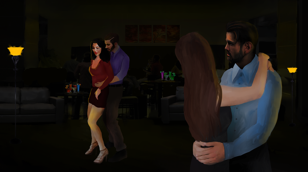Cuckold's Diary, ENTRY #9: DANCE FLOOR WIFE SWAP